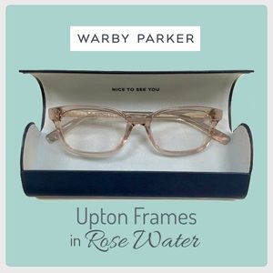 NEW {Warby Parker} Upton Frames in Rose Water